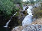 Cascada de la zona