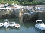 Old port at Biarritz - day out idea - less than an hour away