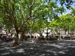 Roman town square at Uzes