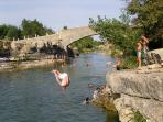 If your children can swim, the river at Ribaute is a great day out