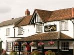 The Pineapple - your local pub! A 5 minute walk away, towards Dorney Village