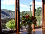 Fabulous views from the living room and bedrooms