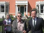 Il primo ministro in visita Model Farm