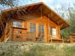 Self contained Log Cabin (2-4 beds) nornally not rented (not Poolhouse) - for larger groups.