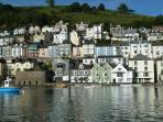 approx three minutes drive from above (Dartmouth's historic river embankment