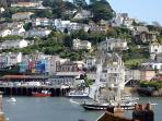 one of the historic ships often seen on the Dart estuary (approx. 3 mins. away)
