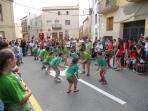 Traditional folk dance at local village festival