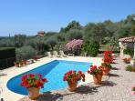 Charming villa - private pool, terrace, sea view