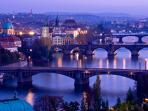 Bridges on the Vltava river