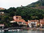 Collioure on the Cote de Vermeille – accessible by road and by boat from St Cyprien port