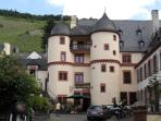 The Schloss in Zell / Mosel