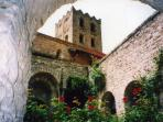 St Martin de Canigou monastery higher still
