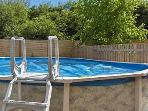 Solar Heated Pool, 9m x 5m