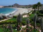 view of Playa Dorada beach