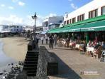seafront restaurants in Playa Blanca
