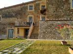Apartment Viola - the private garden and the terrace