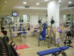 Gym free for guests