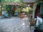 La veranda esterna