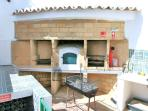 Double Bbq & Bread Oven