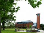 Royal Shakespeare Theatre just 10 mins walk