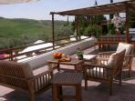 Just relax and enjoy the landscape from the Terrace