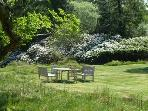 Why not dine out at the fantastic picnic area on the estate?