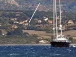 vista dal mare - from the sea