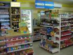 Convenience store at club house, open from 7am to 9pm...