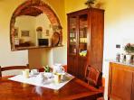 Podere Casarotta - 'Gli Archi' kitchen