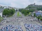 Lourdes from the Basilica