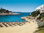 Cala Murada's Blue Flag Rated Beach Has A Cafe, Bar And Lifeguard On Duty Throughout The Season