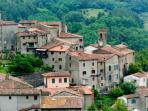 Explore our beautiful Tuscan medieval village and those nearby either on foot or by car.