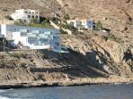 Edificio de la comunidad desde la playa
