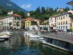The harbour Menaggio - - Menaggio is just a 5 minute's drive away by car