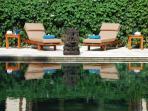 Comfortable pool chairs