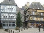 Place des Merciers next to the Apartment