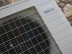 Air source for heat pump