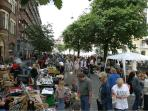 The area when we have market