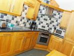 Modern appliances with gas hob and electric fan oven