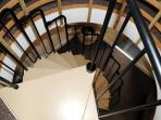 Sprillal Staire case to master bedroom
