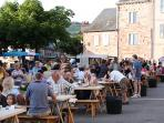 Enjoy a traditional Aveyronnaise fete