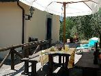 Dine al fresco on your terrace and sunbathe there too!