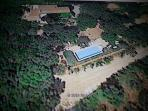 google earth wiew of garden and pool