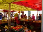Great markets in our local towns - you can visit one every day of the week!
