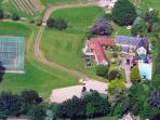 Aerial view Barritshayes