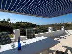 Upper dining terrace