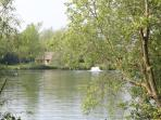 Cottage across the lake