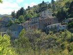 Le village de Ville di paraso vu de la maison .