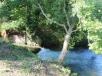 Enjoy listening to this weir which is very close to the Cottage.