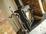 Log burner for those cosy nights in front of the fire